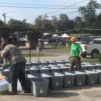SMBC Young Professionals Community volunteering after Hurricane Harvey