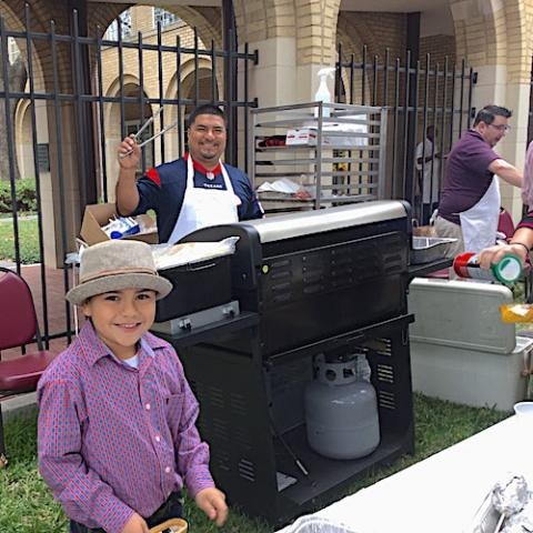 Cooking at the 2016 Fall Festival