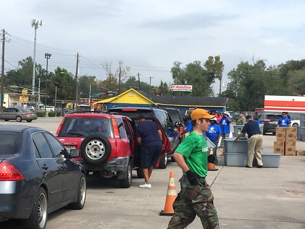 SMBC Young Professionals Community Volunteering After Harvey