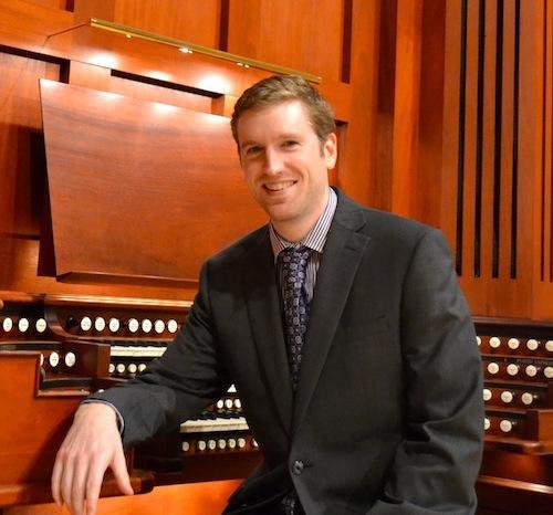 Organist Yuri McCoy