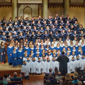 Advent at South Main, Generations Choir, Dedication Sunday